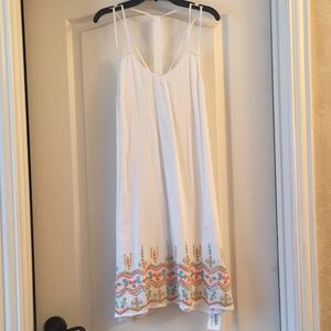White embroidery sundress